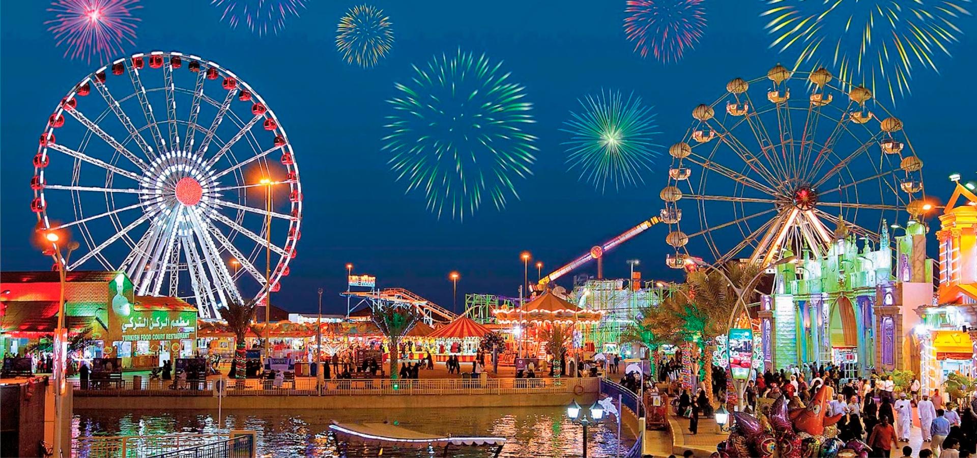 Новогодние каникулы в Дубай