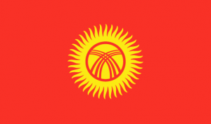 Кыргызстан флаг