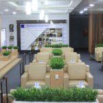 Зал ожидания аэропорта Манас - 1