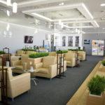 Зал ожидания аэропорта Манас - 17