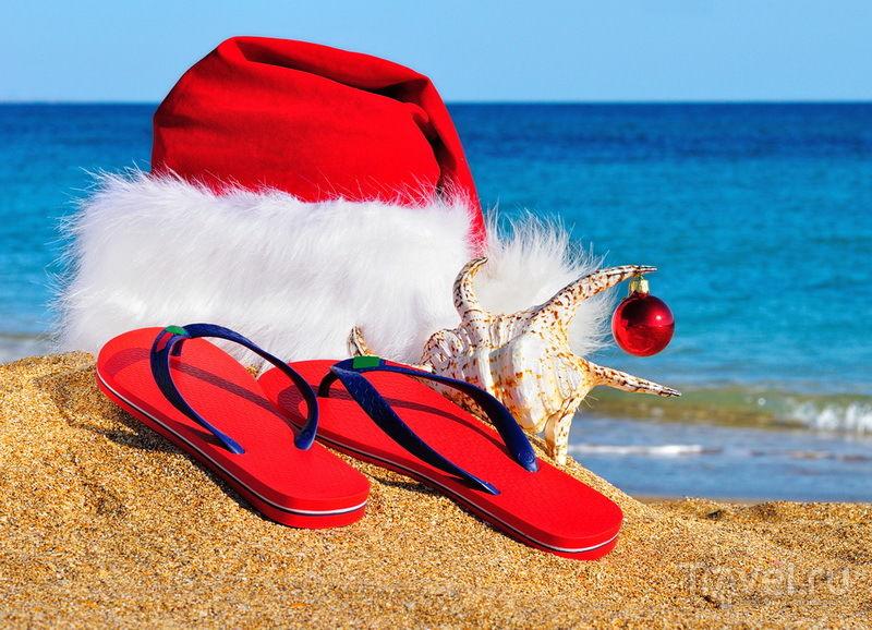 новый год на море